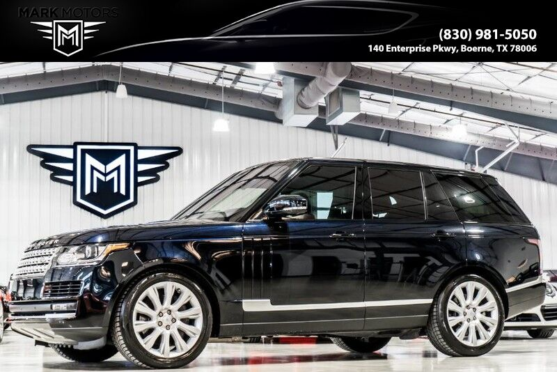 2016_Land Rover_Range Rover_Supercharged_ Boerne TX