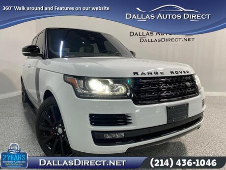 2016 Land Rover Range Rover Supercharged Carrollton  TX