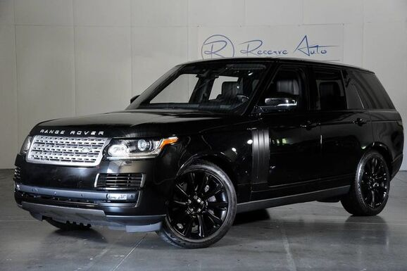 2016_Land Rover_Range Rover_Supercharged Driver & Vision Assist Blackout Pkg Prem Audio_ The Colony TX