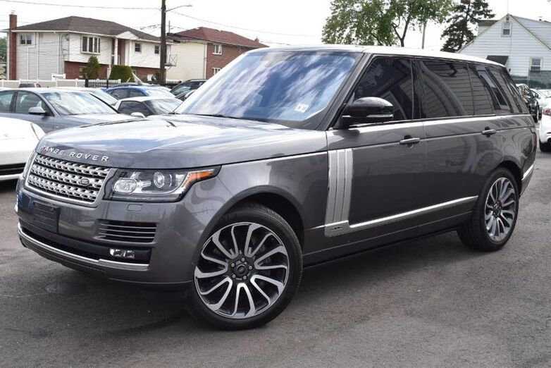 2016 Land Rover Range Rover Supercharged Elmont NY