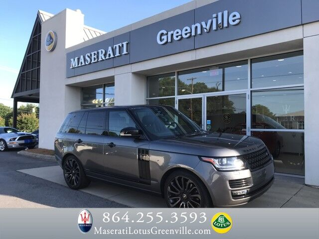 2016 Land Rover Range Rover Supercharged Greenville SC