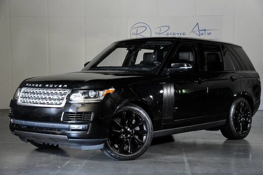 2016 Land Rover Range Rover Supercharged HUD Driver & Vision Assist Meridian Sound The Colony TX