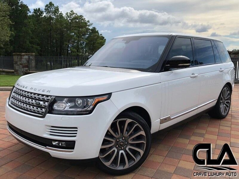 2016 Land Rover Range Rover Supercharged LWB The Woodlands TX