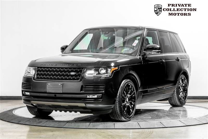 2016 Land Rover Range Rover Supercharged MSRP $112,880 Costa Mesa CA