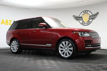 2016_Land Rover_Range Rover_Supercharged Pano,Blind Spot,Meridian Sound,AC Seats_ Houston TX