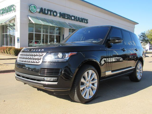 2016 Land Rover Range Rover Supercharged Plano TX