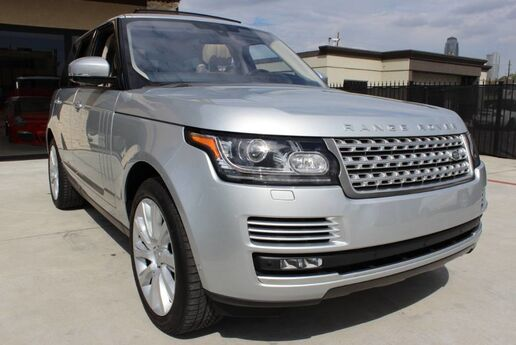 2016 Land Rover Range Rover Supercharged-RECONDTIONED TITLE Houston TX