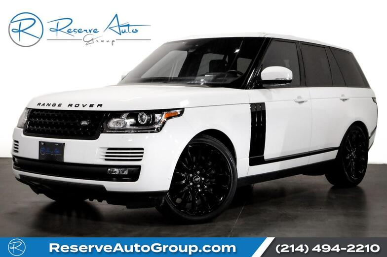 2016 Land Rover Range Rover Supercharged The Colony TX