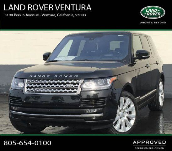 2016 Land Rover Range Rover Supercharged Ventura CA 30194360