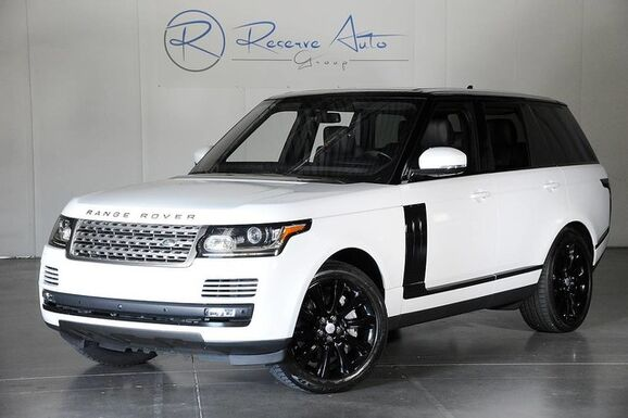 2016_Land Rover_Range Rover_Supercharged Vision Assist Ebony BlackOut Pkg_ The Colony TX