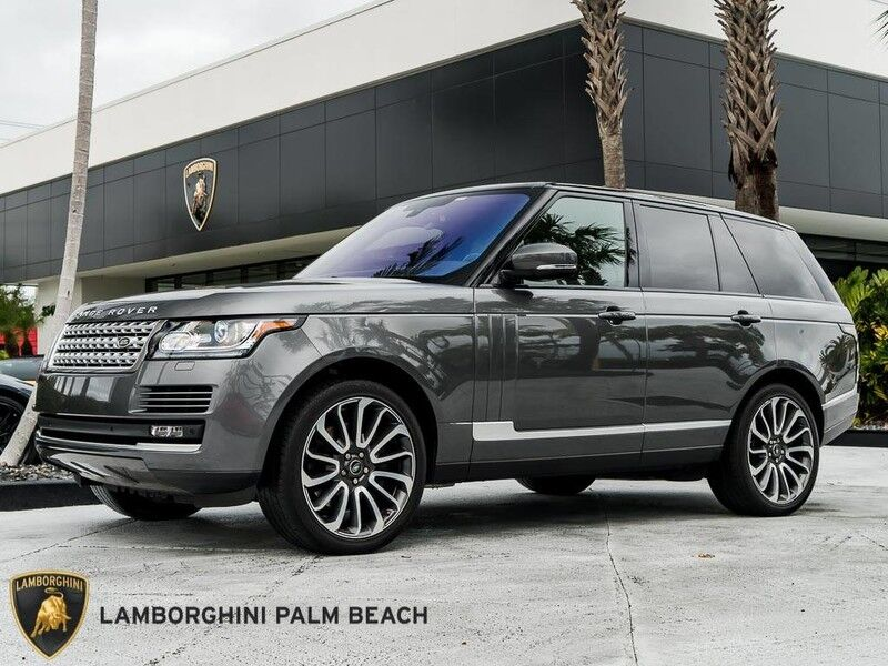 2016 Land Rover Range Rover Supercharged West Palm Beach FL