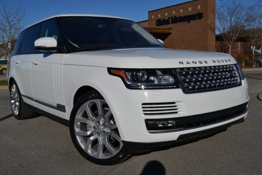 2016 Land Rover Range Rover TD6 Diesel/HSE/Vision Assist Package/Meridian Premium Audio/22'' Split Spoke Wheel/Heated & Cooled Seats/Sliding Pano Roof/Adaptive Cruise/Four Zone Climate Nashville TN