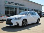 2016 Lexus CT 200h F-SPORT Base LEATHER, SUNROOF, BACKUP CAMERA, BLUETOOTH CONNECTIVITY, FRONT HTD SEATS