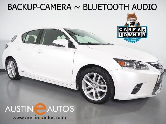 2016 Lexus CT 200h Hybrid *BACKUP-CAMERA, STEERING WHEEL CONTROLS, DUAL CLIMATE CONTROL, ALLOY WHEELS, BLUETOOTH PHONE & AUDIO Round Rock TX