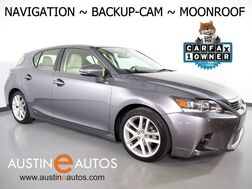2016_Lexus_CT 200h Hybrid_*NAVIGATION, BACKUP-CAMERA, MOONROOF, HEATED SEATS, STEERING WHEEL CONTROLS, ALLOY WHEELS, BLUETOOTH PHONE & AUDIO_ Round Rock TX