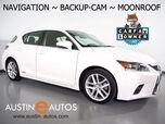 2016 Lexus CT 200h Hybrid *NAVIGATION, BACKUP-CAMERA, MOONROOF, HEATED SEATS, STEERING WHEEL CONTROLS, ALLOY WHEELS, BLUETOOTH PHONE & AUDIO