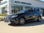 2016 Lexus ES 300h Sedan, BLIND SPOT, SUNROOF, NAV, BACKUP CAM, HTD/COOL SEATS, PUSH BUTTON START, KEYLESS, BLUETOOTH,