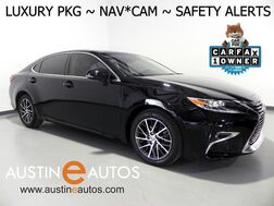 2016_Lexus_ES 350_*LUXURY PKG, NAVIGATION, COLLISION ALERT, BLIND SPOT ALERT, ADAPTIVE CRUISE, LED HEADLIGHTS, BACKUP-CAM, CLIMATE SEATS, MOONROOF_ Round Rock TX
