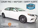 2016 Lexus ES 350 *LUXURY PKG, NAVIGATION, LANE DEPARTURE & COLLISION ALERT, BLIND SPOT ALERT, BACKUP-CAMERA, ADAPTIVE CRUISE, MOONROOF, CLIMATE SEATS, BLUETOOTH