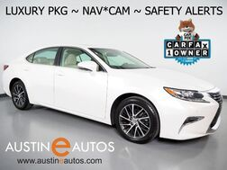 2016_Lexus_ES 350_*LUXURY PKG, NAVIGATION, LANE DEPARTURE & COLLISION ALERT, BLIND SPOT ALERT, BACKUP-CAMERA, ADAPTIVE CRUISE, MOONROOF, CLIMATE SEATS, BLUETOOTH_ Round Rock TX