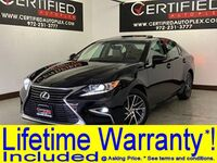 Lexus ES 350 NAVIGATION SUNROOF BLIND SPOT ASSIST REAR CAMERA PARK ASSIST HEATED COOLED 2016