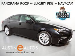 2016_Lexus_ES 350_*PANORAMA MOONROOF, LUXURY PKG, NAVIGATION, COLLISION ALERT, BLIND SPOT & LANE DEPARTURE ALERT, BACKUP-CAMERA, CLIMATE SEATS, LEATHER, BLUETOOTH_ Round Rock TX