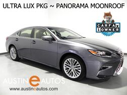2016_Lexus_ES 350_*PANORAMA MOONROOF, ULTRA LUXURY PKG, NAVIGATION, BLIND SPOT ALERT, COLLISION & LANE DEPARTURE ALERT, ADAPTIVE CRUISE, CLIMATE SEATS, MARK LEVINSON AUDIO_ Round Rock TX