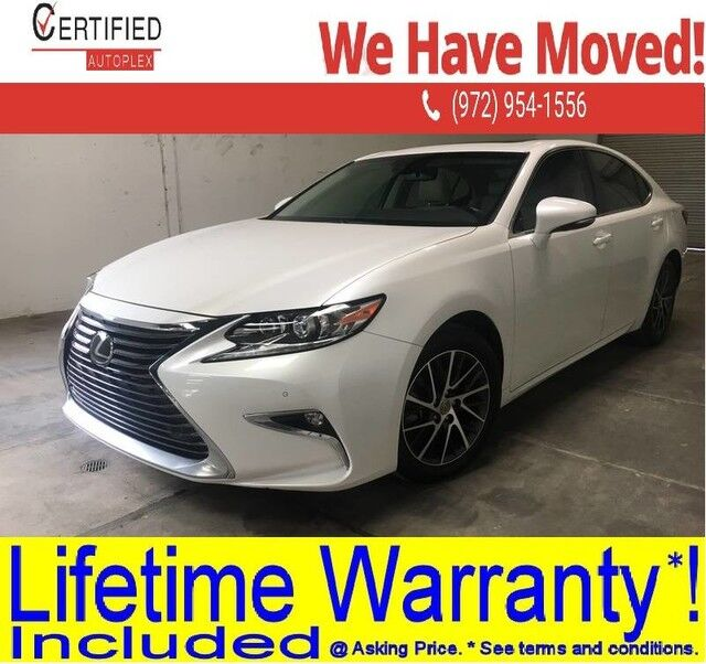 2016 Lexus ES 350 SAFETY SYSTEM PLUS PKG NAVIGATION SUNROOF BLIND SPOT ASSIST REAR CAMERA ADA Dallas TX