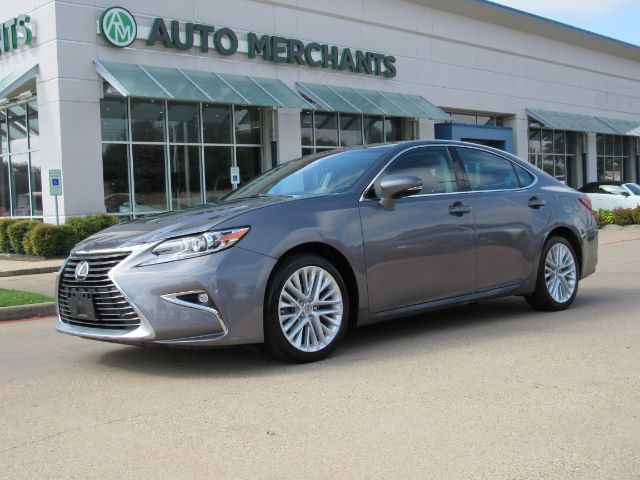 2016 Lexus ES 350 Sedan NAV, BLINDSPOT, LANE DEPART, HTD/COOLED STS, BLUETOOTH, BACKUP CAM, PWR SUNSHADE, ADAPT CRUISE Plano TX