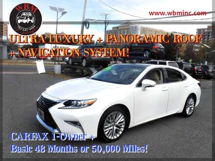 2016_Lexus_ES 350_w/ Ultra Luxury Package_ Arlington VA