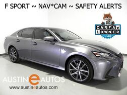 2016_Lexus_GS 350 AWD_*F SPORT, NAVIGATION, PRE-COLLISION ALERT, LANE DEPARTURE & BLIND SPOT ALERTS, BACKUP-CAM, CLIMATE SEATS, LEATHER, MOONROOF, BLUETOOTH_ Round Rock TX