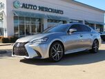2016 Lexus GS 350 F SPORT LEATHER SEATS, NAVIGATION SYSTEM, SUNROOF, SATELLITE RADIO, REAR PARKING AID