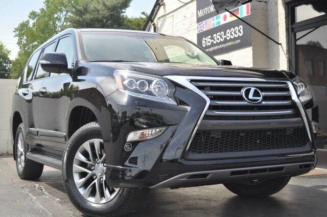 2016 Lexus GX 460 4WD Luxury Edition/Navigation/Heated & Ventilated Semi-Aniline Leather Seating/Wood & Leather-Trimmed Heated Steering Wheel/Power Folding Third Row Seating/Blind Spot Monitor w/ Rear Cross-Traffic Alert Nashville TN