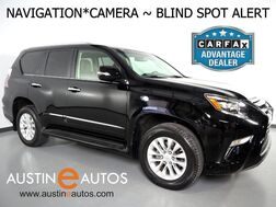 2016_Lexus_GX 460 4WD_*NAVIGATION, BACKUP-CAMERA, BLIND SPOT ALERT, LEATHER, MOONROOF, CLIMATE SEATS, BLUETOOTH PHONE & AUDIO_ Round Rock TX