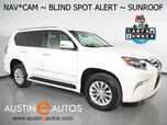 2016 Lexus GX 460 4WD *NAVIGATION, BACKUP-CAMERA, BLIND SPOT ALERT, LEATHER, MOONROOF, CLIMATE SEATS, BLUETOOTH PHONE & AUDIO