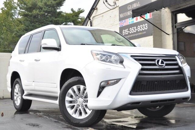 2016 Lexus GX 460 4WD Premium w/ Navigation, Heated & Ventilated Front Seats, Heated 2nd Row Seats, Intuitive Parking Assist/Blind Spot Monitor w/ Rear Cross-Traffic Alert/Wood & Leather-Trimmed Steering Wheel/3rd Row Seating Nashville TN