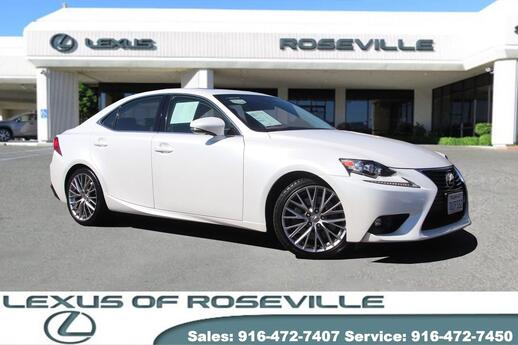 2016 Lexus IS 200T  Roseville CA