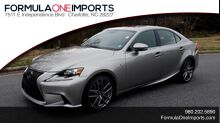 2016_Lexus_IS 200T_F-SPORT / SUNROOF / REARVIEW / BSM / VENT SEATS_ Charlotte NC
