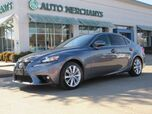 2016 Lexus IS 200t 2.5L 6CYL AUTOMATIC, BLUETOOTH CONNECTION, SUNROOF, XM RADIO, BACK-UP CAMERA, HID HEADLIGHTS, L