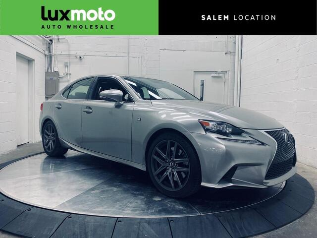 2016 Lexus IS 200t F SPORT Htd/Ventilated Seats NAV Blind Spot Assist Portland OR