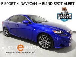 2016_Lexus_IS 200t_*F SPORT, NAVIGATION, PRE-COLLISION ALERT, BLIND SPOT ALERT, BACKUP-CAMERA, ADAPTIVE CRUISE, CLIMATE SEATS, MOONROOF, BLUETOOTH PHONE & AUDIO_ Round Rock TX