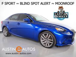 2016_Lexus_IS 200t_*F SPORT PKG, BLIND SPOT ALERT, BACKUP-CAMERA, MOONROOF, CLIMATE SEATS, ALLOY WHEELS, BLUETOOTH PHONE & AUDIO_ Round Rock TX
