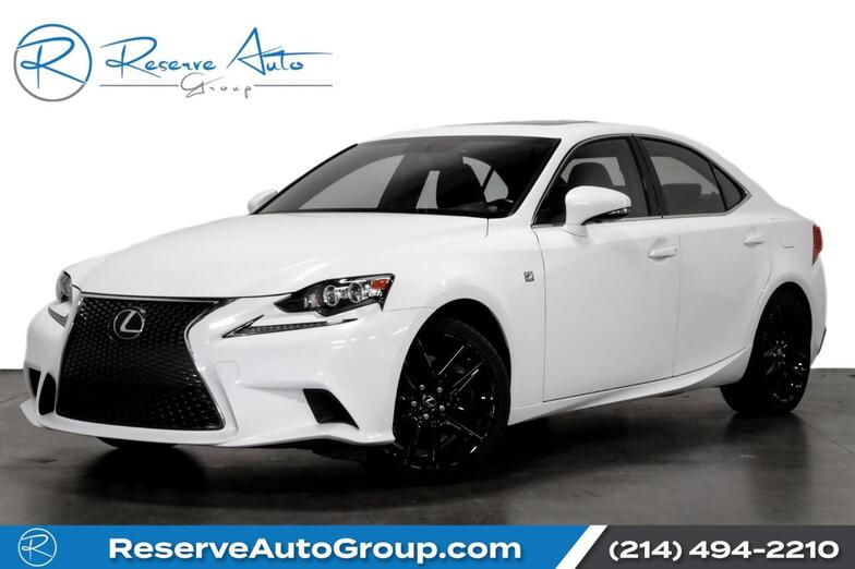 2016 Lexus IS 200t F-Sport Navigation Moonroof BlindSpot Adaptive Crusie The Colony TX