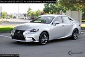 2016 Lexus IS 200t F Sport w/ Blind Spot One Owner/Heated & Cooled Seats/ CPO to 100K Miles!!!
