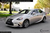 2016 Lexus IS 200t F Sport w/ Blind Spot & Nav only 17K miles One Owner/Heated & Cooled Seats/ CPO to 100K Miles!!!