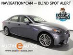 2016 Lexus IS 200t *NAVIGATION, BLIND SPOT ALERT, BACKUP-CAMERA, MOONROOF, CLIMATE SEATS, 18 INCH ALLOYS, BLUETOOTH PHONE & AUDIO