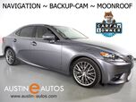 2016 Lexus IS 200t *NAVIGATION, BLIND SPOT ALERT, BACKUP-CAMERA, MOONROOF, CLIMATE SEATS, INTUITIVE PARK ASSIST, BLUETOOTH PHONE & AUDIO