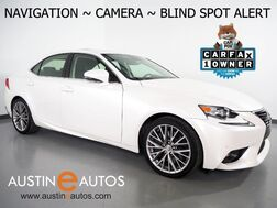 2016_Lexus_IS 200t_*NAVIGATION, BLIND SPOT ALERT, BACKUP-CAMERA, MOONROOF, CLIMATE SEATS, INTUITIVE PARK ASSIST, BLUETOOTH PHONE & AUDIO_ Round Rock TX