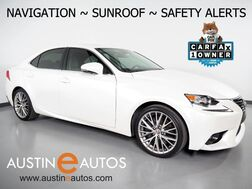 2016_Lexus_IS 200t_*NAVIGATION, PRE-COLLISION ALERT, BLIND SPOT ALERT, BACKUP-CAMERA, ADAPTIVE CRUISE, MOONROOF, CLIMATE SEATS, BLUETOOTH PHONE & AUDIO_ Round Rock TX