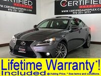 Lexus IS 200t NAVIGATION SUNROOF BLIND SPOT ASSIST LEATHER HEATED COOLED SEATS REAR CAMER 2016